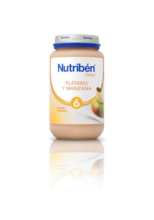 NUTRIBEN POTITO PLATMANZANA 250G