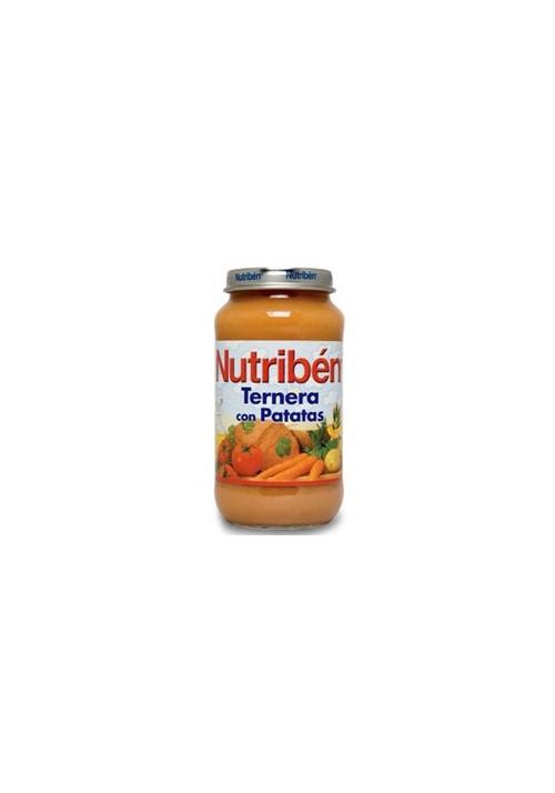 NUTRIBEN POTITO TERNERA PATATA 250 G