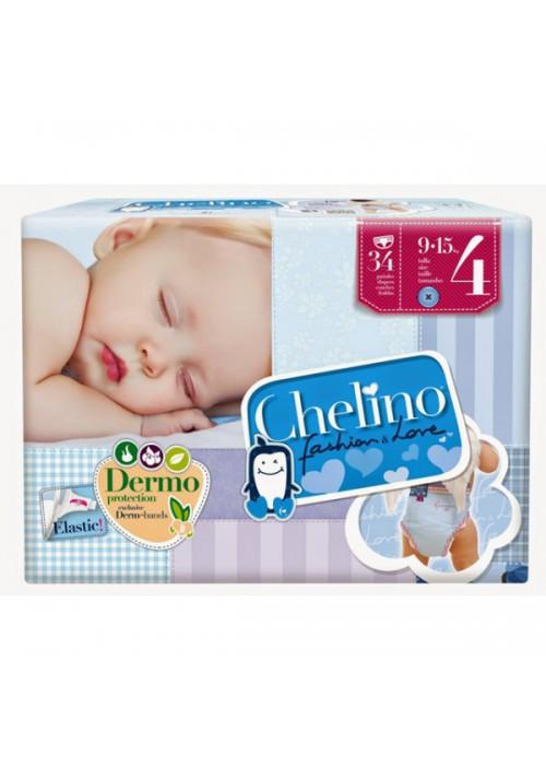 PAÑAL INFANTIL CHELINO FASHION  LOVE T 4 9