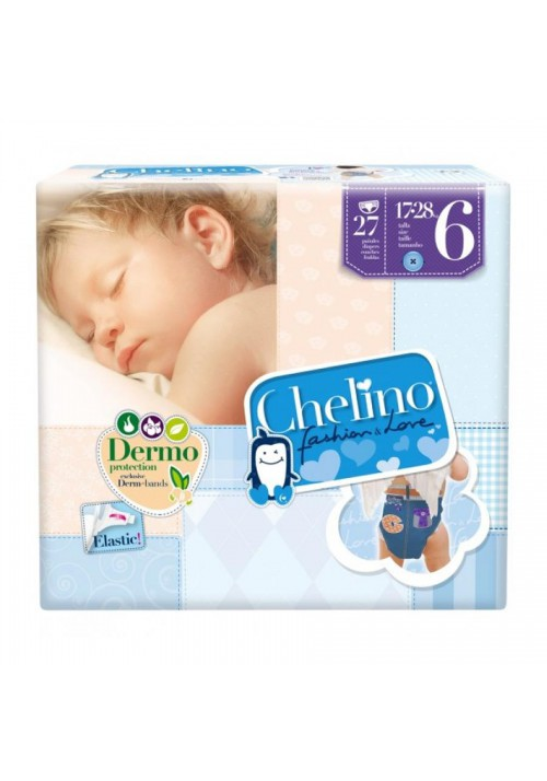 PAÑAL INFANTIL CHELINO FASHION  LOVE T 6 17