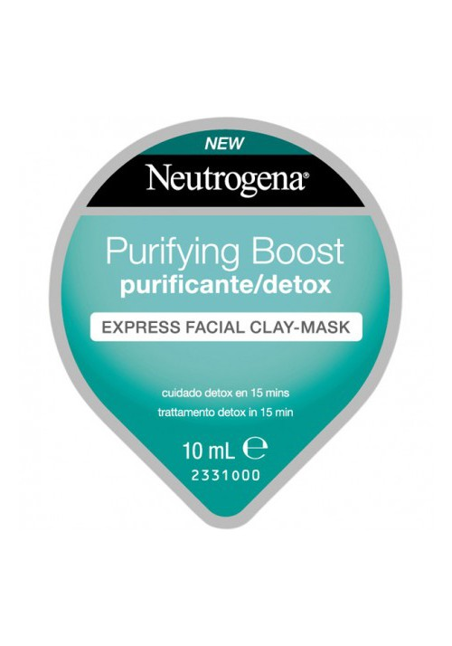 NEUTROGENA PURIFYING BOOST EXPRESS FACIAL CLAYM
