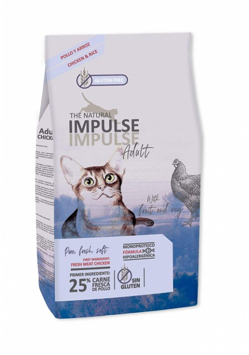 PIENSO THE NATURAL IMPULSE CAT ADULT 2 KG