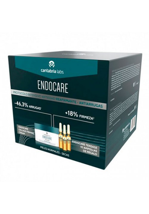 PACK ENDOCARE CELLAGE FIRMING CREAM  AGUA MICEL